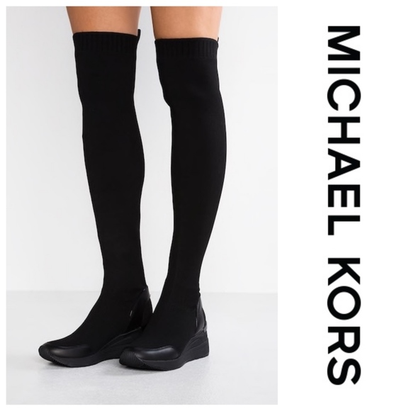buy best shopping sneakers Michael Kors Grover Thigh High Knit Boots